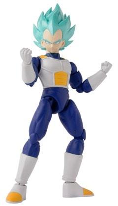Dragon Ball Super: Dragon Stars Super Saiyan Blue Vegeta Figurine - 1