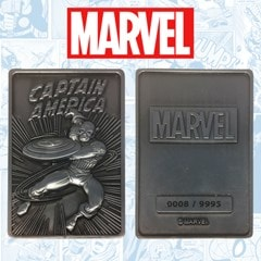 Captain America: Marvel Limited Edition Ingot Collectible - 2