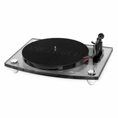 Victrola Acrylic Charcoal Turntable With Bluetooth Speakers - 2