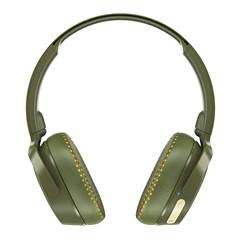 Skullcandy Riff Moss/Olive/Yellow Bluetooth Headphones - 2