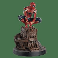 Spiderman on Roof: Marvel Mega Figurine: Hero Collector - 3