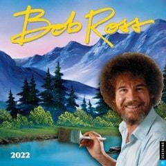 Bob Ross Square 2022 Calendar - 1