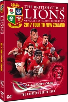 British and Irish Lions: Official Test Match Highlights - 2017... - 2
