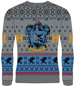 Ravenclaw Crest: Harry Potter Christmas Jumper (Small) - 1