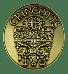 Harry Potter: Gringotts Bank Medallion (online only) - 2