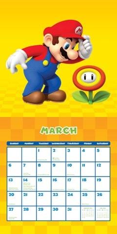 Super Mario: Nintendo Square 2022 Calendar - 2