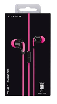 Vivanco Talk 4 Pink Earphones - 2