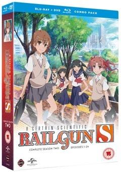 A Certain Scientific Railgun S: Complete Season 2 - 2