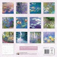 Monet's Waterlilies Square 2022 Calendar - 3