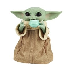 Star Wars Galactic Snackin' Grogu Integrated Play Soft Toy - 6