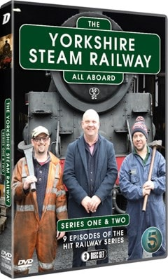 The Yorkshire Steam Railway: Series 1-2 - 2