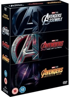 Avengers: 3-movie Collection - 2
