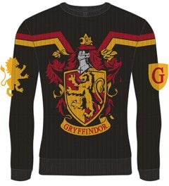 Gryffindor Crest: Harry Potter Christmas Jumper (Small) - 1