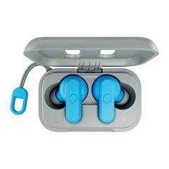 Skullcandy Dime Light Grey/Blue True Wireless Bluetooth Earphones - 7