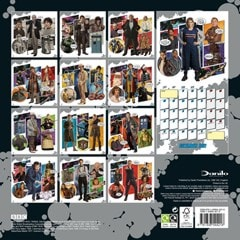 Doctor Who Classic: Square 2021 Calendar - 3