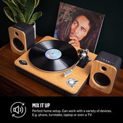 House Of Marley Get Together Duo Bluetooth Bookshelf Speakers - 4