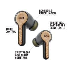 House of Marley Rebel Signature Black True Wireless Bluetooth Earphones - 3