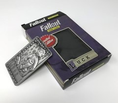 Fallout: Luck Metal Perk Card - 4