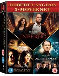 The Da Vinci Code/Angels and Demons/Inferno - 2