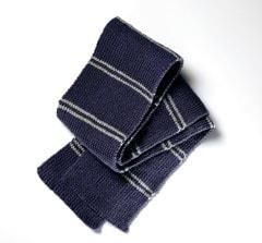 Ravenclaw House Scarf: Harry Potter Knit Kit - 4