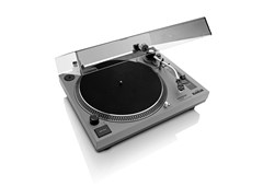 Lenco LS-3808 Matte Grey Direct Drive Turntable - 2
