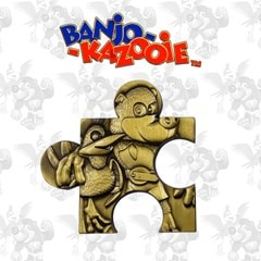 Banjo Kazooie Jiggy Piece Metal Collectible (online only) - 1