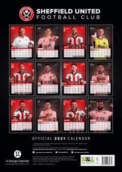 Sheffield United FC: Football A3 2021 Calendar - 3