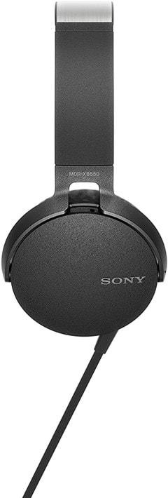 Sony XB550AP Black Extra Bass Headphones - 5