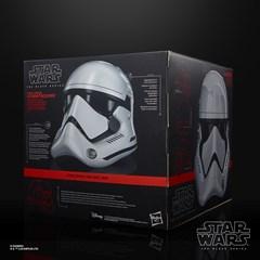 First Order Stormtrooper Electronic Helmet: Star Wars Black Series - 6