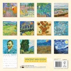 Vincent van Gogh Square 2022 Calendar - 3