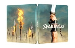 Spartacus 60th Anniversay Limited Edition 4K Ultra HD Steelbook - 4