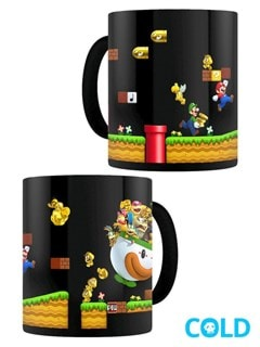 Super Mario Gold Coin Rush Heat Change Mug - 1