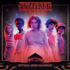 Stranger Things Square 2022 Calendar - 1