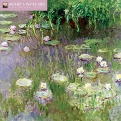 Monet's Waterlilies Square 2022 Calendar - 1