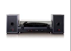 Lenco LS-300 Black Turntable and Speakers - 5