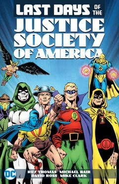 Last Days of the Justice Society of America - 1