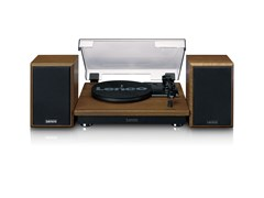 Lenco LS100 Wood Turntable & Speakers - 4