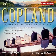 Copland: Orchestral Works 4 - Symphonies - 1