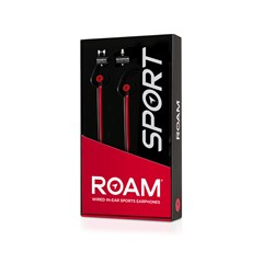 Roam Sports Pro Red Earphones - 2
