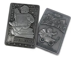 Fallout: Intelligence Metal Perk Card - 3