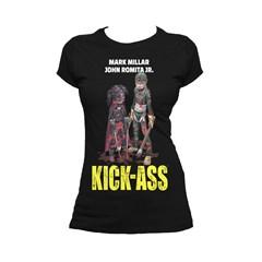 Kickass: Poster Hit Girl Ladies Fit Tee Black (Small) - 1