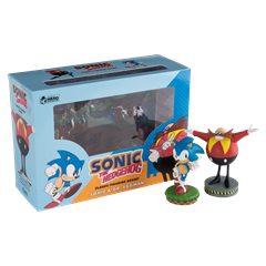 Sonic and Dr Eggman Figurine Set: Hero Collector - 1