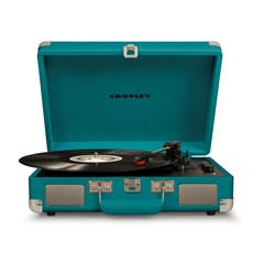 Crosley Cruiser Deluxe Teal Turntable - 2