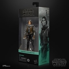 Jyn Erso Rogue One Star Wars Black Series Action Figure - 7