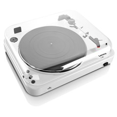 Lenco L-85 White USB Turntable - 5