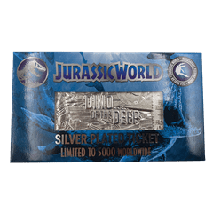 Jurassic World: Mosasaurus Silver Plated Metal Replica Ticket (online only) - 2