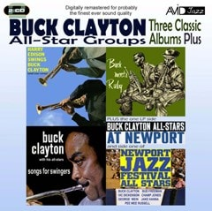 Three Classic Albums Plus: Songs for Swingers / Buck Meets Ruby / Harry Edison Swings Buck C - 1