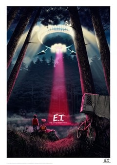 E.T. The Extra Terrestrial - Night Limited Edition Art Print - 1