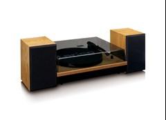 Lenco LS-300 Wood turntable and Speakers - 4
