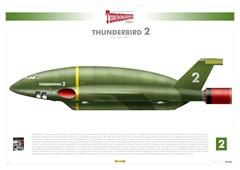 Thunderbird 2: Infographic Art Print - 1